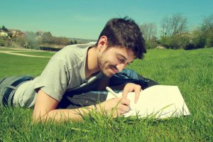 writing on the nature